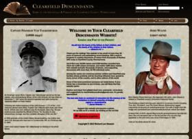 clearfielddescendants.com