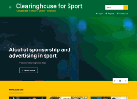 clearinghouseforsport.gov.au