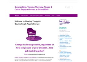 clearingthoughts.co.uk