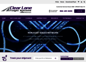 clearlanefreight.com