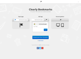 clearlybookmarks.com