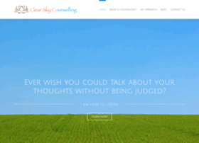 clearskycounselling.co.uk