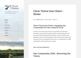 clearvisioneauclaire.org