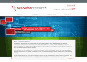 clearvoiceresearch.com