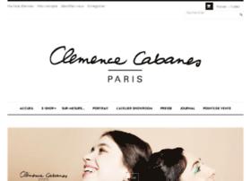 clemencecabanes-shop.com