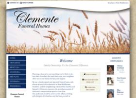 clementefuneralhomes.com
