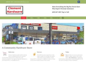 clementhardware.com