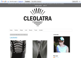 cleolatra.blogspot.de