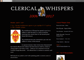 clericalwhispers.blogspot.ie
