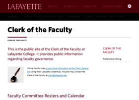 clerk.lafayette.edu