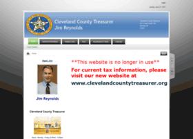 clevelandcountytreasurer.com