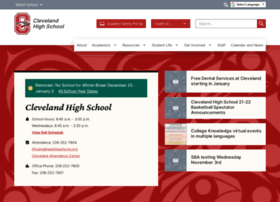 clevelandhs.seattleschools.org