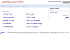 cleverlocal.com