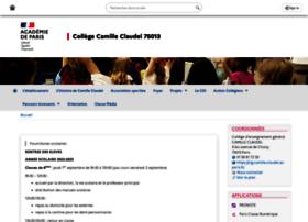 clg-camille-claudel.ac-paris.fr