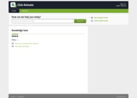 clickanimate.freshdesk.com