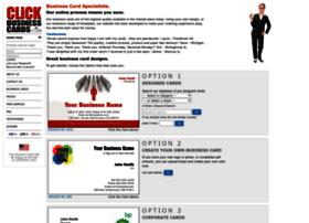 clickbusinesscards.com