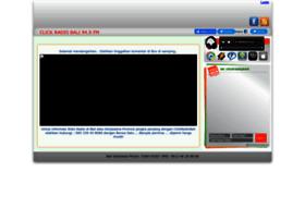 clickradiobali.streamingkita.com
