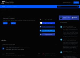 clientforums.tcadmin.com