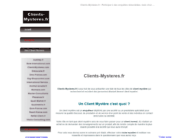 clients-mysteres.fr