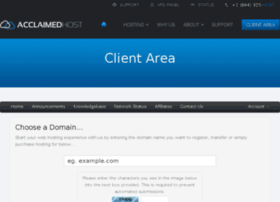 clients.acclaimedhost.com
