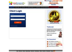 clients.contentdevelopmentpros.com