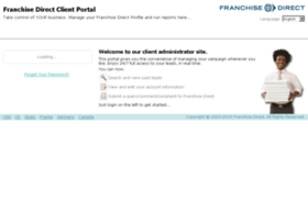 clients.franchisedirect.com