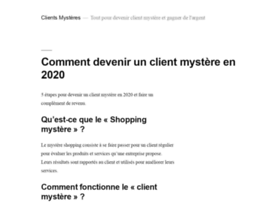 clientsmysteres.fr