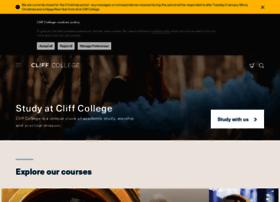 cliffcollege.org