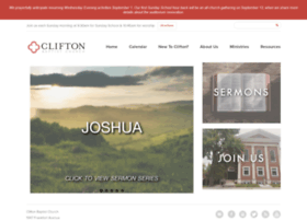 cliftonbaptist.org