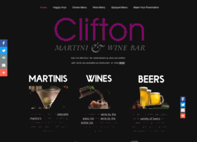 cliftonmartini.com