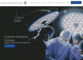 cliftonsurgerycenter.com