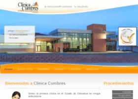 clinicacumbres.com.mx