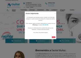 clinicadentalmunoz.es