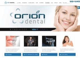 clinicadentalorion.com