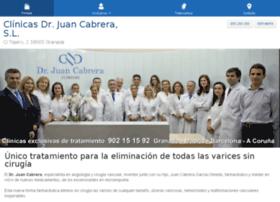 clinicadoctorjuancabrera.es