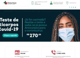 clinicafares.com.br