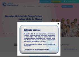 clinicainternacional.com.pe