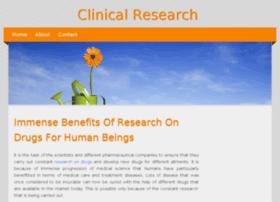 clinicalresearch.jigsy.com