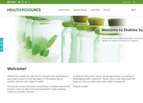 clinicals.shaklee.com