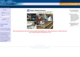 clinicalservices.fisherscientific.com