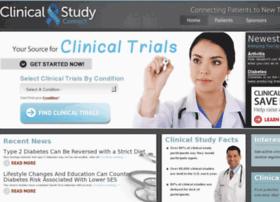 clinicalstudyconnect.com