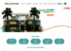 clinicasantaisabel.com