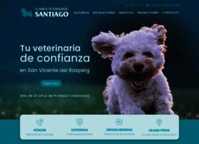 clinicaveterinariasantiago.es