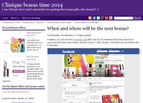 clinique-bonus-time.com