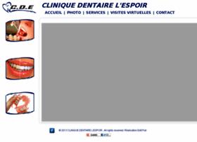 cliniqueespoir.com