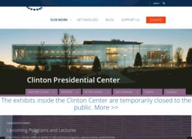 clintonpresidentialcenter.com