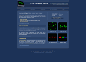 clock-screen-saver.com