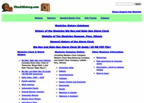 clockhistory.com