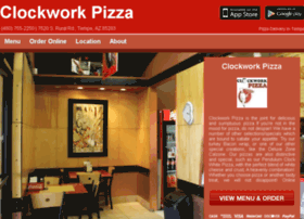 clockwork-pizza.com