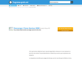 clone-genius.programas-gratis.net